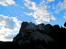 Rushmore at Dusk