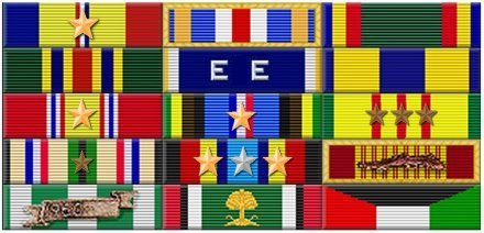 USS Horne Awards and Medals
