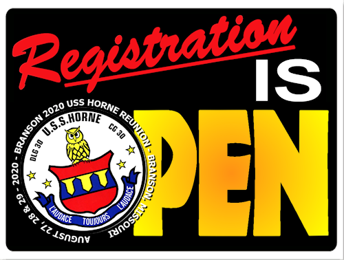 Branson 2020 Horne Reunion Registration is now OPEN