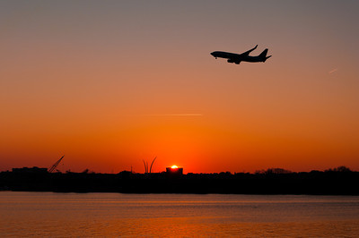 Image result for sunset over washington dc